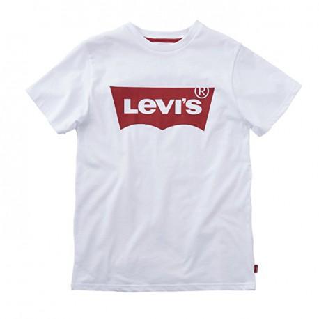 Camiseta básica logo rojo de Levis