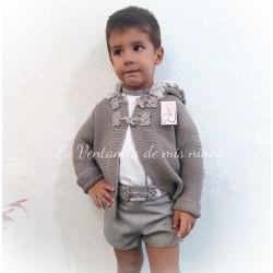 Conjunto Niño pantalón corto colección Joya de Lolittos