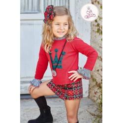 Conjunto niña Mirelle de Eva Castro