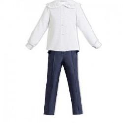 Conjunto Camisa y pantalón largo Ocean de Eve Children