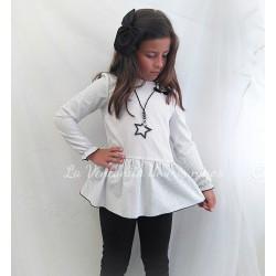 Conjunto Pantalón largo negro colección Tepee de Eve Children