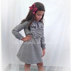 Vestido Coleccion Dots  cuadros de Eve Children
