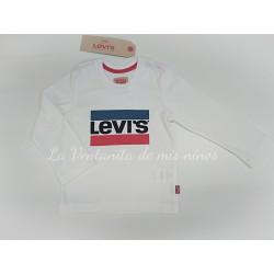 Camiseta con logo bandera de Levis