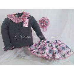 Conjunto jersey y braga Boatine de Lolittos