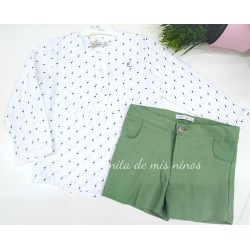 Conjunto Grass de niño de Eve Children