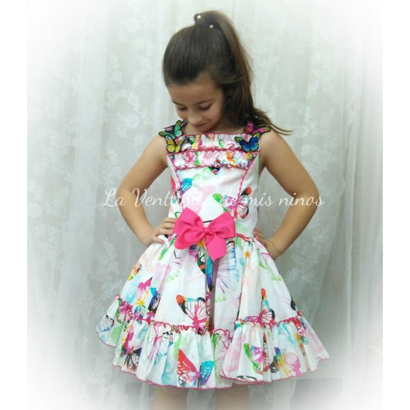 8dcf6991a vestido mariposas de nini