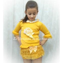 Conjunto Mimosa niña de Lolittos