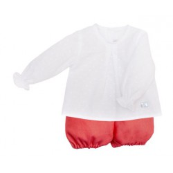 EVE CHILDREN CONJUNTO BEBE CORAL