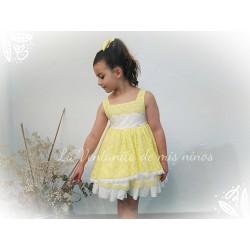 Vestido Sunshine amarillo de La Amapola