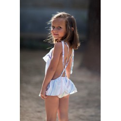 Ranita niña rayas mejicanas de ancar