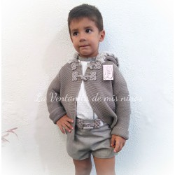 Conjunto Niño camisa y pantalón corto colección Joya de Lolittos