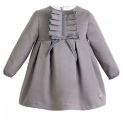 Vestido niña Colección Mountain gris de Eve Children