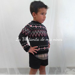 Conjunto + Jersey New York Niño de La Martinica