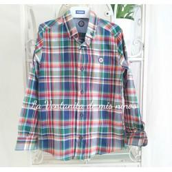 Camisa cuadros Multicolor de Nachete