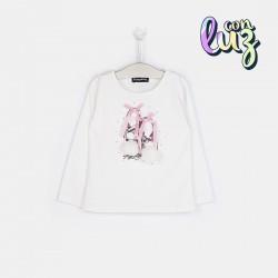 Camiseta Bailarinas con luz de Conguitos