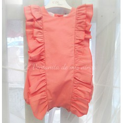 Pelele Peach color melocoton Eve Children