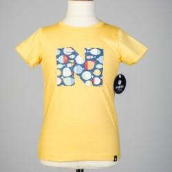 Camiseta amarilla N de Nachete