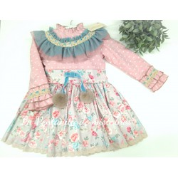 VESTIDO MIX LOVELY DE LA AMAPOLA