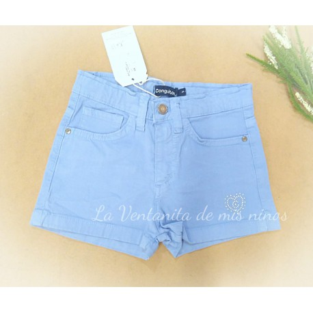 SHORT COLOR FRANCIA DE CONGUITOS