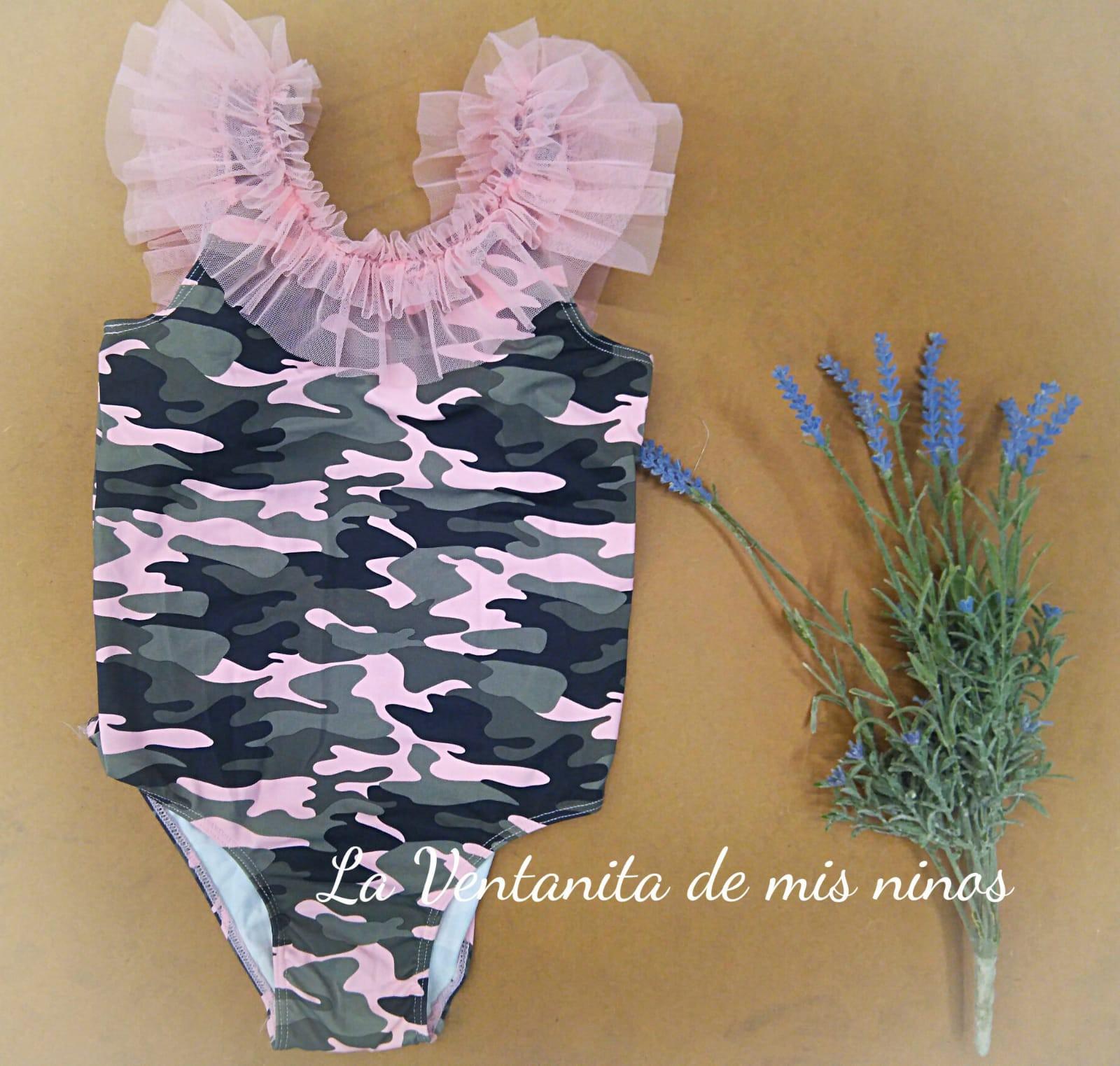 Bikini Rosa Tom Y Jerry De La Martinica
