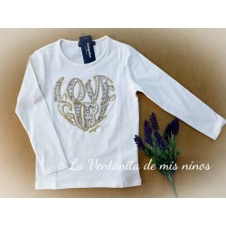 CAMISETA LOVE GIRL DE CONGUITOS