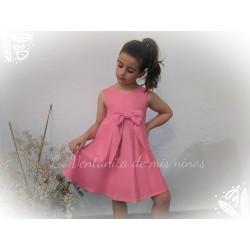 Vestido rosa fluor Eve Children