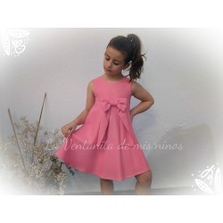 Vestido rosa fluor Eve Children